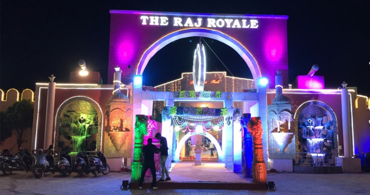 The Raj Royale Lawns